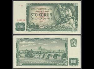 Tschechoslowakei - CZECHOSLOVAKIA 10 Korun 1961 Pick 91a XF (2) (24632
