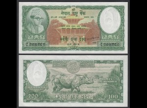 NEPAL - 100 RUPEES (1961) Banknote UNC (1) Pick 15 (24689