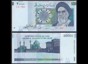 IRAN (Persien) - 20000 20.000 RIALS Pick 147a UNC (1) (24692