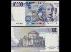 Italien - Italy 10000 10.000 Lire Banknote 1984 Pick 112d UNC (1) (14795
