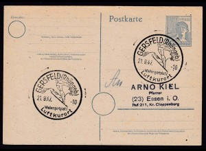 SPORT 1947 GERSFELD Winterspotplatz Skispringer (16481