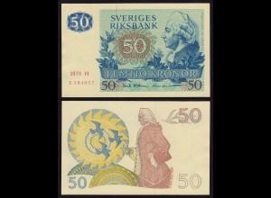 Schweden - Sweden 50 Kronen 1976 aUNC (1-) Pick 53b (16161