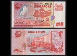 SINGAPUR - SINGAPORE 10 Dollars (1976) Pick 11 UNC (1) (16163