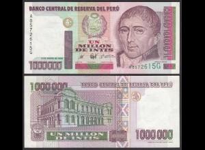 PERU 1-Million 1000000 Intis 1990 Pick 148 UNC (1) (24706