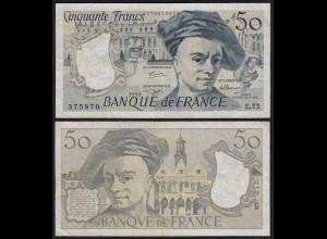Frankreich - France - 50 Francs 1992 Pick 152f VF- (3-) (24711