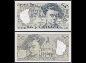 Frankreich - France - 50 Francs 1991 Pick 152e VF+ (3+) (24712