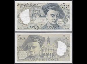 Frankreich - France - 50 Francs 1991 Pick 152e VF+ (3+) (24713