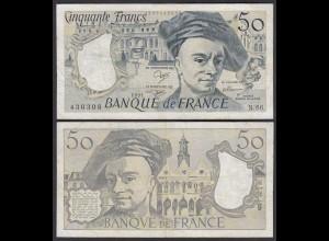 Frankreich - France - 50 Francs 1991 Pick 152e VF (3) (24714
