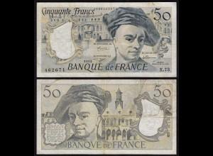 Frankreich - France - 50 Francs 1992 Pick 152f VF- (3-) (24715
