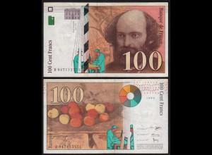 Frankreich - France - 100 Francs 1998 Pick 158 VF (3) (24723