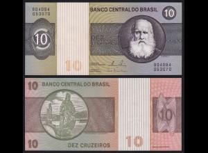 Brasilien - Brazil 10 Cruzeiros (1980) Sig.20 Pick 193e UNC (1) (16106