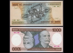 Brasilien - Brazil 1000 Cruzados Banknote (1981) Pick 201a UNC Sig.20 (16102