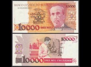 Brasilien - Brazil 10 auf 10000 Cruzados (1990) Pick 218b UNC Sig.27 (16098
