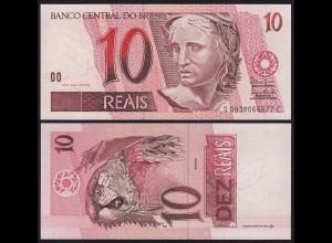 Brasilien - Brazil 10 Real Banknote (1997) Pick 245A UNC (1) D C (16096