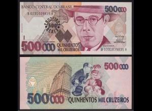 Brasilien - Brazil 500 Cruzeiros Reais (1993) Pick 239b UNC (16095