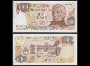 Argentinien - Argentina 1000 Peso 1976-83 Pick 304b UNC (1) (16090