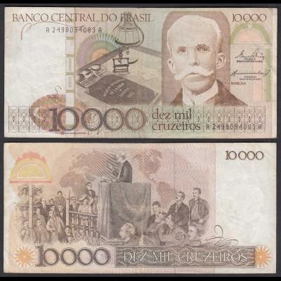 Brasilien - Brazil 10.000 10000 Cruzaros 1984 Pick 203a ca.VF (3) (24802