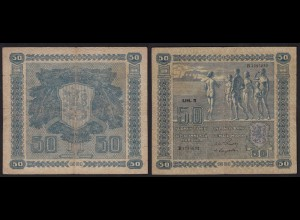 Finnland - Finland 50 Markka Banknote 1939 Pick 82 F (4) (24827