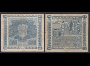 Finnland - Finland 50 Markka Banknote 1939 Pick 82 F (4) (24828