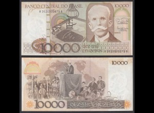 Brasilien - Brazil 10.000 10000 Cruzaros 1985 Pick 203b VF (3) (24804