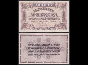 Ungarn - Hungary 100000 Egyszázezer Adopengo 1946 Pick 144e VF (3)