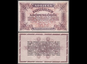 Ungarn - Hungary 100000 Egyszázezer Adopengo 1946 Pick 144e XF (2)