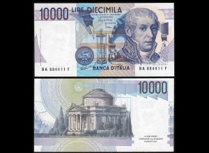 Italy - 10000 10.000 Lire Banknotes 1984 UNC (1) Pick 112a Sig. Ciampi-Stevani
