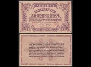Ungarn - Hungary 100.000 Egyszázezer Adopengo 1946 VF (3) Pick 144a
