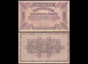 Ungarn - Hungary 100.000 Egyszázezer Adopengo 1946 Pick 144b VF (3)