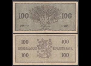 FINNLAND - FINLAND 100 MARKKA 1955 PICK 91a F (4) (24967