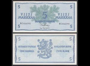 FINNLAND - FINLAND 5 MARKKA 1963 PICK 99a UNC (1) (24971