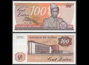 Zaire - 100 Zaires 1985 Banknote Pick 29b UNC (1) (25000