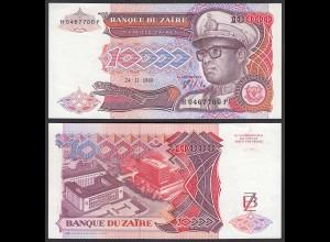Zaire 10.000 10000 Zaires 1989 Banknote Pick 38a UNC (1) (25014
