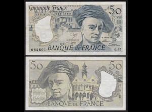 Frankreich - France - 50 Francs 1991 Pick 152e F/VF (3/4) (24729