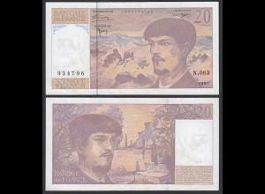 Frankreich - France 20 Francs Banknote 1997 XF (2) Pick 151i (22370