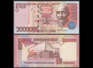 Ghana 20000 20.000 Cedis Banknote 2002 Pick 36a aUNC (1-) (25091