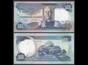 Angola 500 Escudos Banknote 1972 Pick 102 UNC (1) (25099