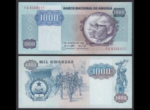 Angola 1000 Kwanza 1984 Banknote Pick 121a UNC (1) (25101