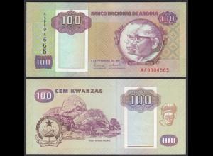 Angola 100 Kwanza 1991 Banknote Pick 126 UNC (1) (25105