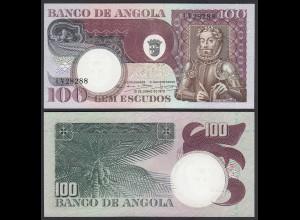Angola 100 Kwanza 1973 Banknote Pick 106 UNC (1) (25106