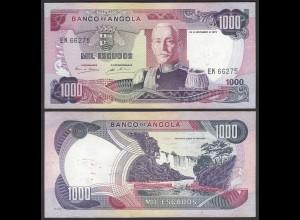 Angola 1000 Kwanza 1972 Banknote Pick 103 UNC (1) (25107