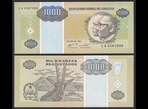 Angola 5000 5.000 Kwanza 1995 Banknote Pick 135 UNC (1) (25112