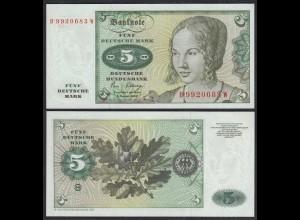 BRD 5 DM Bundesbanknote 1980 Ro 285a UNC (1) (25149