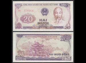 Vietnam - Viet Nam 20 Dong Banknote 1985 Pick 94a UNC (1) (25150