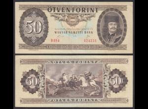 UNGARN - HUNGARY 50 Forint 1989 Pick 170h VF (3) (25174