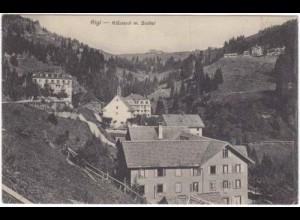 AK Rigi Schweiz Klösterli m. Staffel (3416