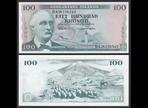 Iceland - Island 100 Kroner 1961 Pick 44a UNC (1) (25225