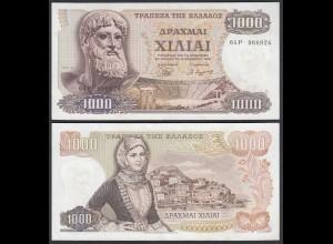 Griechenland - Greece 1000 Drachmai 1970 Pick 198b aUNC (1-) (25242