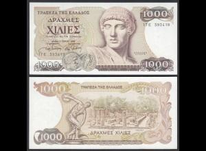 Griechenland - Greece 1000 Drachmai 1987 Pick 202a UNC (1) (25243