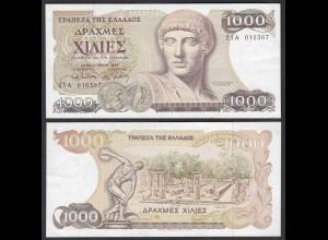 Griechenland - Greece 1000 Drachmai 1987 Pick 202a aUNC (1-) (25244